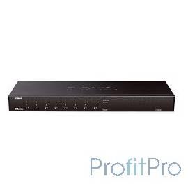 D-Link KVM-440/E 8-портовый переключатель KVM с портами PS2/USB