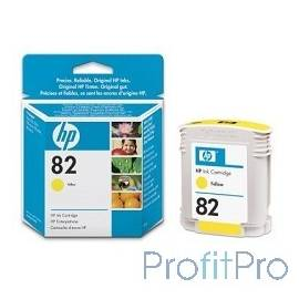 HP C4913A Картридж №82, Yellow DesignJet 500/800, Yellow (69 ml)