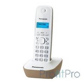 Panasonic KX-TG1611RUJ (бежевый) АОН, Caller ID,12 мелодий звонка,подсветка дисплея,поиск трубки