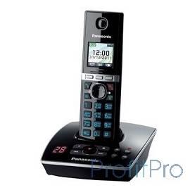 Panasonic KX-TG8061RUB (черный) цветной дисплей,АОН,Caller ID,функция резервного питания,спикерфон