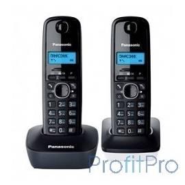 Panasonic KX-TG1612RU1 Доп трубка в комплекте,АОН, Caller ID,12 мелодий звонка,поиск трубки