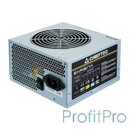Chieftec 450W OEM [GPA-450S8] ATX-12V V.2.3 PSU with 12 cm fan, Active PFC, ficiency 80% 230V only