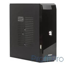 3Cott M01 65W, USB, mini-ITX, Black