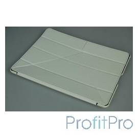 Чехол Continent IP-41WT Эко кожа/пластик, белый, для IPad2, IPAD 4 и IPad new