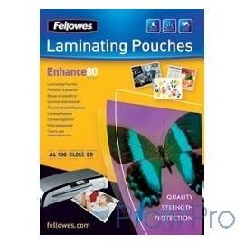 Fellowes Пленки для ламинирования глянцевые FS-53062 (A3, 2х80мкм 100шт)
