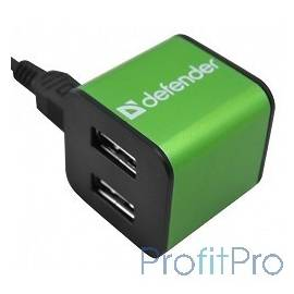 DEFENDER USB QUADRO IRON USB 2.0, 4 порта, метал. корпус