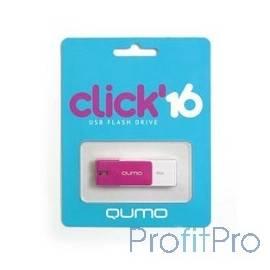 USB 2.0 QUMO 16GB Click [QM16GUD-CLK-Violet]