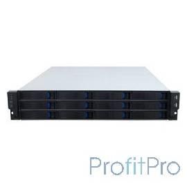 "Procase ES212-SATA3-B-0 2U 12 SATA3/SAS hotswap HDD, глубина 650мм, MB 12""x13"", без Б/П"