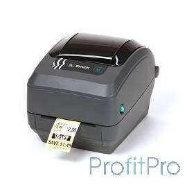 Zebra GK420t [GK42-102520-000] Черный TT Printer, 203 dpi, Euro and UK cord, EPL, ZPLII, USB, Serial, Centronics Parallel