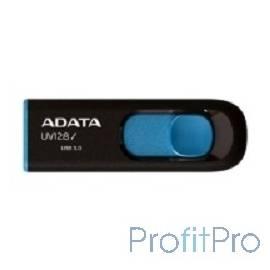 A-DATA Flash Drive 16Gb UV128 AUV128-16G-RBE USB3.0, Black-Blue