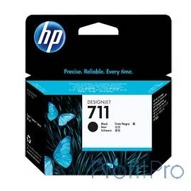 HP CZ133A Картридж №711, Black Designjet T120/T520, Black (80ml)