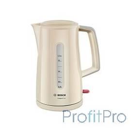 Чайник Bosch TWK3A017, бежевый, 2400Вт, 1,7 л