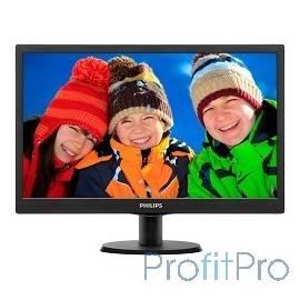 """LCD PHILIPS 19,5"""" 203V5LSB26(10/62) черный TN LED, 1600x900, 90/50, 1000000:1, 5ms, 200cd/m D-Sub"""