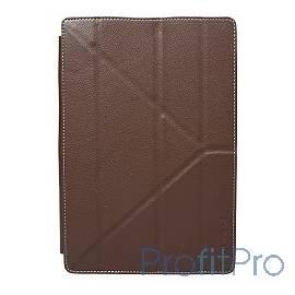 Чехол Continent UTS-102 BR универсальный для устройств с матрицей до 10,1&apos&apos,Эко кожа/Пластик, коричневый