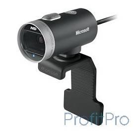 Microsoft LifeCam Cinema USB 2.0, 1280x720, 5Mpix foto, автофокус, Mic, Black/Silver (6CH-00002)