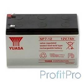 Yuasa Батарея для ИБП NP7-12 12V/7Ah (691725)