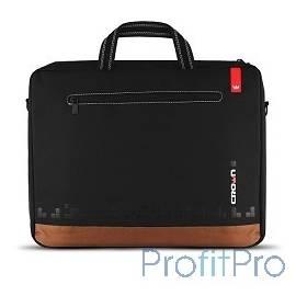 "CROWN CMB-440 Сумка для ноутбука (black) 15,6"""