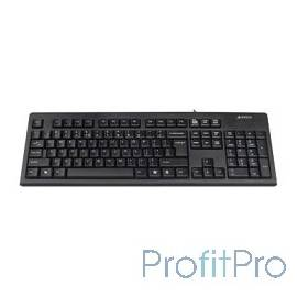 Keyboard A4tech KR-83 black USB, проводная USB, 104 клавиши