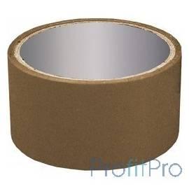 Клейкая лента упаковочная 48мм*45м, 40 мкр, темная, поштучная упаковка