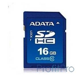 SecureDigital 16Gb A-DATA ASDH16GUICL10-R SDHC Class 10