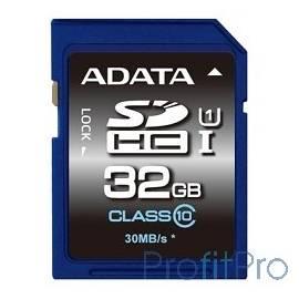 SecureDigital 32Gb A-DATA ASDH32GUICL10-R SDHC Class 10, UHS-I
