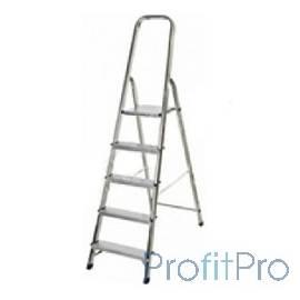 Лестница-стремянка СИБИН алюминиевая, 5 ступеней, 103 см [38801-5]
