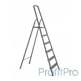 Лестница-стремянка СИБИН алюминиевая, 6 ступеней, 124 см [38801-6]
