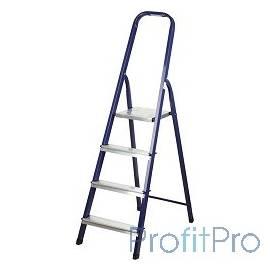 Лестница-стремянка СИБИН стальная, 4 ступени, 82 см [38803-04]