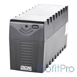 UPS Powercom RPT-600A (PCM-RPT-600A) 600 ВА/ 360 Вт, AVR, 3 розетки IEC320 C13 с резервным питанием