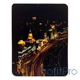 Коврик для мыши Buro BU-M80007 ночной город [817313]