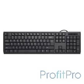 Defender OfficeMate SM-820 Black USB [45820] Клавиатура проводная,104+12 доп.ф-ций