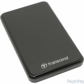 "Transcend Portable HDD 2Tb StoreJet TS2TSJ25A3K USB 3.0, 2.5"", black"