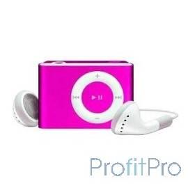 Perfeo цифровой аудио плеер Music Clip Titanium, розовый (VI-M001 Pink)
