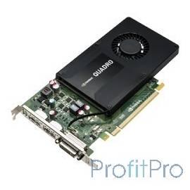 PNY Quadro K2200 4GB RTL [VCQK2200-PB]/[RVCQK2200PB] PCIE 2xDP DVI