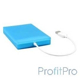 "AgeStar SUBCP1 BLUE Внешний корпус 2.5"" SATA HDD/SSD AgeStar SUBCP1 (BLUE) USB2.0, пластик, синий, безвинтовая конструкция (106"