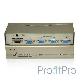 VCOM VDS8016 Разветвитель VGA 1-4-port (VGA15M+4VGA15F)+б.п.