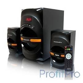 Dialog Progressive AP-210B BLACK 2.1, 30W+2*15W RMS, Bluetooth, USB+SD reader