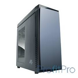 MidiTower Zalman R1 (без БП) боковое окно, ATX черный