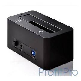 "ORICO 6619US3-BK Док-станция для HDD ORICO 6619US3 1-bay 3.5""/2.5"" HDD 4TB Max (черный)"