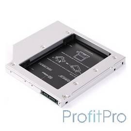 "ORICO L127SS-SV Адаптер HDD в отсек оптического привода ноутбука ORICO L127SS 2.5""HDD*1 SATA 1/2"