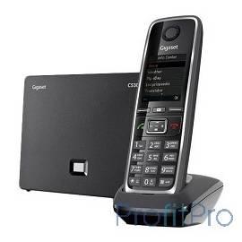 Gigaset S30852-H2526-S301 C530A IP телефон, черный ( интернет-телефон с поддержкой фиксированной линии связи и автоответчиком)