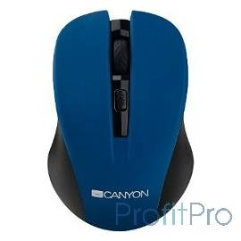 CANYON CNE-CMSW1BL Blue USB wireless mouse with 3 buttons, DPI changeable 800/1000/1200