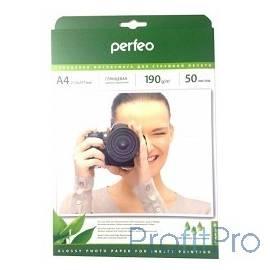 Perfeo PF-GLA4-190/50 Бумага Perfeo глянцевая , А4 190 г/м2 , 50л