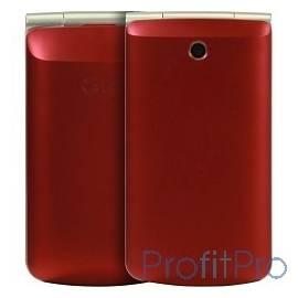 "LG G360 red 3"" 320x240,3G,Wi-Fi,MP3,Bluetooth 2.1, 20 Мб, 1.3Mpix,2 SIM [LGG360.ACISRD]"