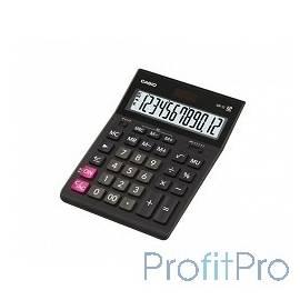 Калькулятор настольный CASIO GR-12(-W-EH) черный Калькулятор 12-разрядный