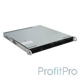 "Supermicro SYS-5018R-M (1U, 350W, LGA2011-R3, Intel®C612, 8xDDR4, 4xHDD 3.5"", 2xGbE, IPMI )"