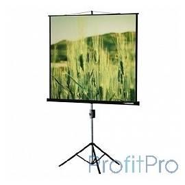 Lumien Экран на треноге 150x150 см Eco View LEV-100101 1:1 напольный рулонный
