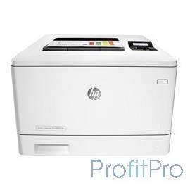 HP Color LaserJet Pro M452dn CF389A Принтер, формат A4,600x600dpi,27(27)стр/мин, ImageREt3600,128Mb, Duplex, 2 trays 50+250,USB