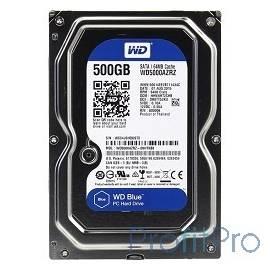 500Gb WD Caviar Blue (WD5000AZRZ) Serial ATA III, 5400 rpm, 64Mb buffer