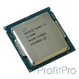CPU Intel Core i3-6100 Skylake OEM 3.70Ггц, 3МБ, Socket 1151